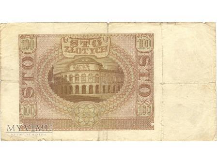 100 ZŁOTYCH KRAKÓW 1940