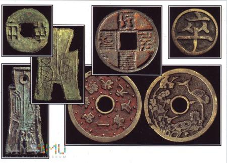Pocztówka z monetami keszowymi (2)