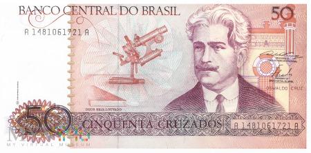 Brazylia - 50 cruzados (1986)