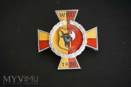 Odznaka WKU Leszno - Nr:038
