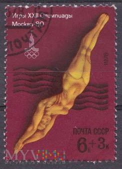 Duże zdjęcie Olympics Moscow 1980 Diving