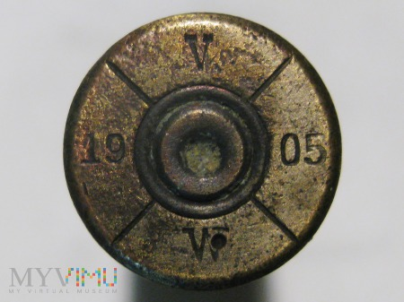 Łuska 8x50R Mannlicher M.95 [ V/19/05/W]