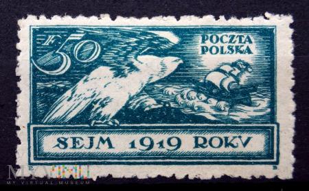 Poczta Polska PL 128-1919