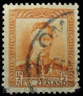 Nowa Zelandia 1/2D Jerzy VI
