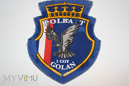 Duże zdjęcie 1 kompania Wzgórza Golan- Polbatt. ONZ - POLBATT