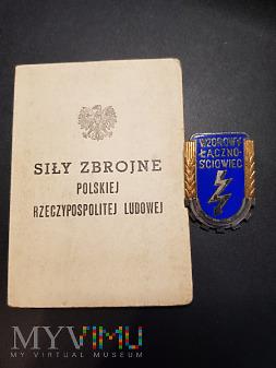 Legitymacja do odznaki - Wzorowy Łącznościowiec