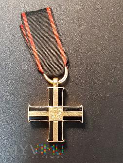 Krzyż Niepodległości - miniatura w złocie