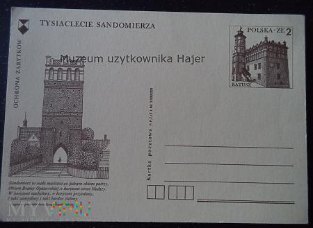 1980.I - Ochrona Zabytków Tysiąclecie Sandomierza