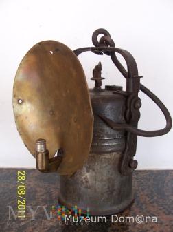 LAMPA GÓRNICZA KARBIDOWA - ŁAMANA TYP 850