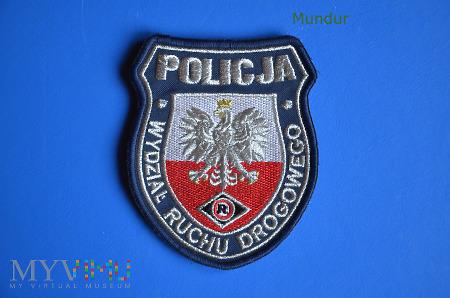 Oznaka Policja - Wydział Ruchu Drogowego