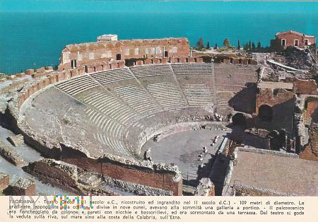 Duże zdjęcie TAORMINA - Teatro Greco