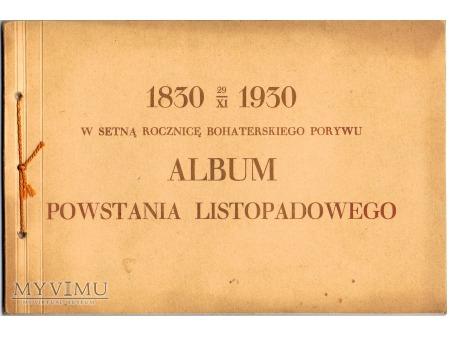 Album Powstania Listopadowego.