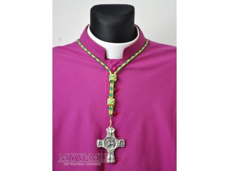 Biskupi sznur do krzyża pektoralnego
