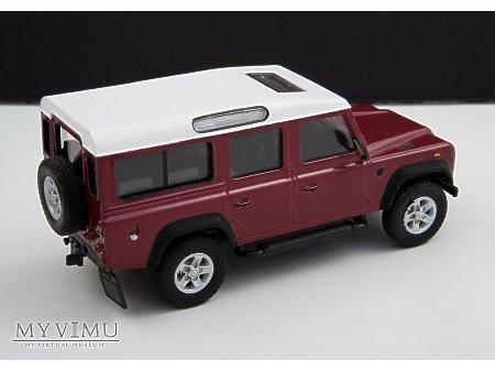 Land Rover Defender 110 model Cararama