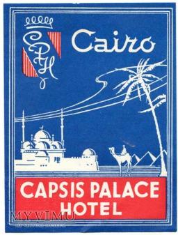 """Egipt - Kair - Hotel """"Capsis Palace"""""""