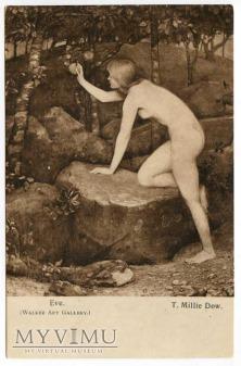 Tomas Millie Dow - Ewa zrywa jabłko