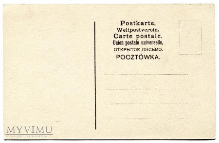 1906 Życzenia Noworoczne Nowy i Stary Rok..