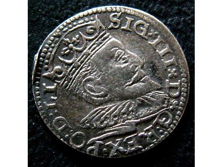 Trojak mennica Ryga- 1595