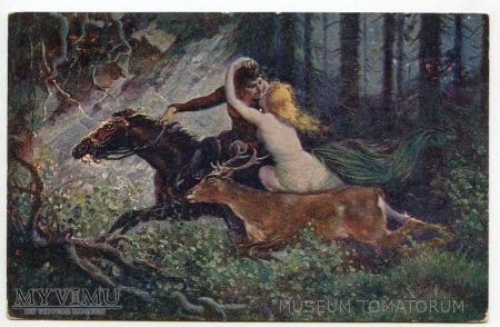 Adolf Liebscher - Leśna nimfa