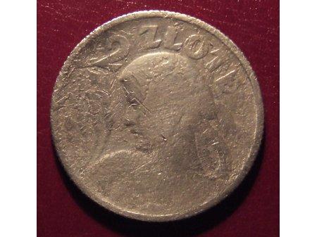 2 złote z 1924r.