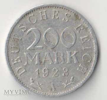 200 MARK 1923 rok A