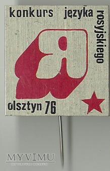 KONKURS JĘZYKA ROSYJSKIEGO OLSZTYN 1976