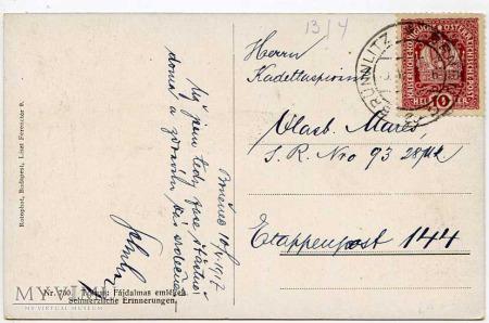 Monk zakonnik - wspomnienia marzenia - 1917