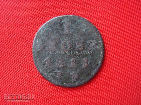 1 grosz 1811 rok