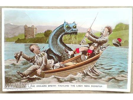 1939 Potwór z LOCH NESS Marzenie Wędkarza