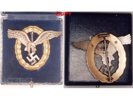 Duże zdjęcie Odznaka Pilot - Nawigator, Pilot - Observer Badge