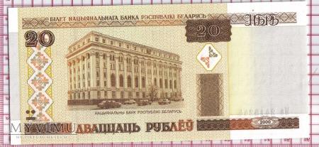 20 Rubli- Białoruś