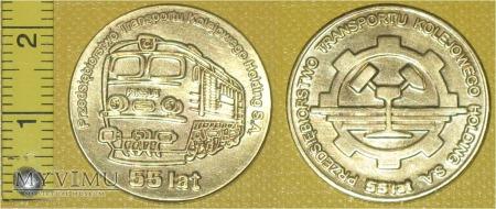 Medal kolejowy - przewozowy PTK Holding S.A.