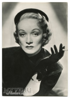 Marlene Dietrich Real photo Rotalfoto Postcard