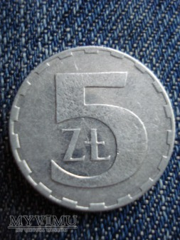 5 ZŁ aluminiowe 2 szt