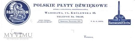 Polskie Płyty Dźwiękowe-reklama