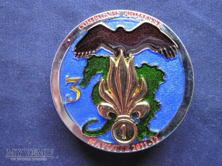 3e compagnie du 2e R.E.G. MAYOTTE 2011-2012