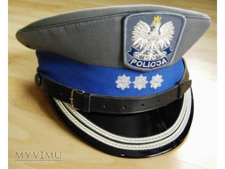 Czapka oficera starszego policji