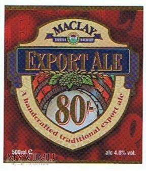 BELHAVEN 80/ - export ale