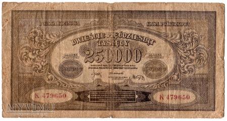 25.04.1923 - 250000 Marek Polskich