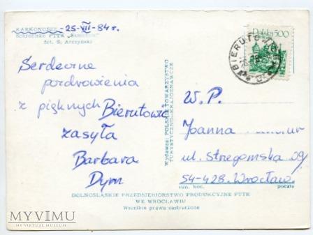 Karkonosze - Mały Staw i Samotnia 1984