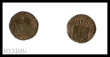 1/360 Thaler 1825 A