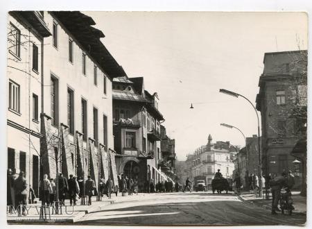 Zakopane Krupówki - 1970