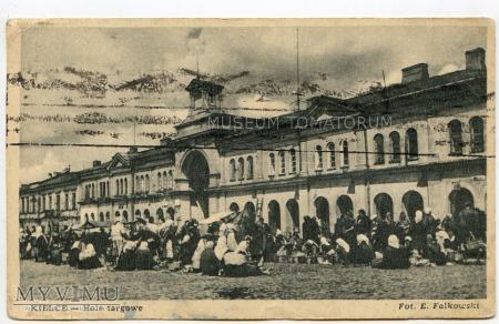 Kielce - Hale targowe - 1949