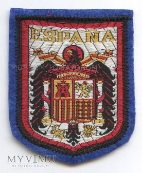Naszywka - Hiszpania