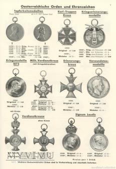 Katalod odznak i medali S&L