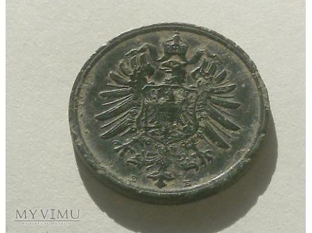 2 Pfennigi 1876 rok.