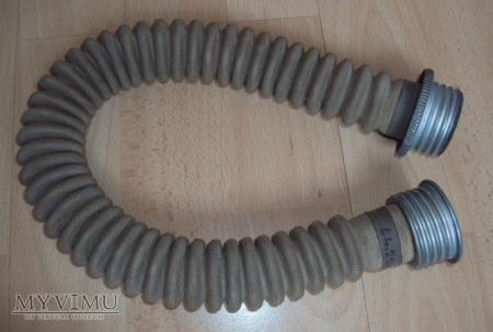 Rura łącząca maskę p.gaz z pochłaniaczem lata 50te