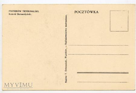 Piotrków Trybunalski - Kościół Bernardyński - 1930