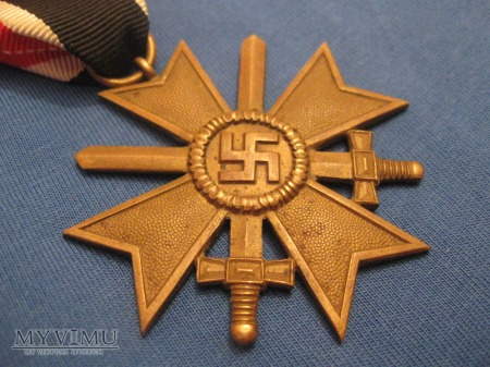 Wojenny Krzyż Zasługi II Klasy z Mieczami
