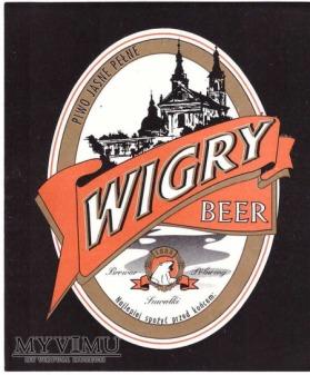 Duże zdjęcie Wigry beer